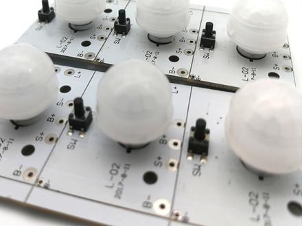 太阳能人体感应灯PCBA控制板