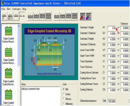 PCB线路板阻抗