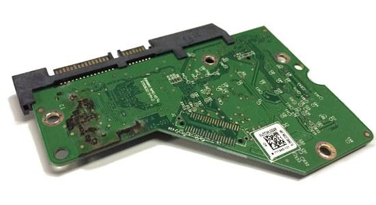 硬盘逻辑控制器PCBA板