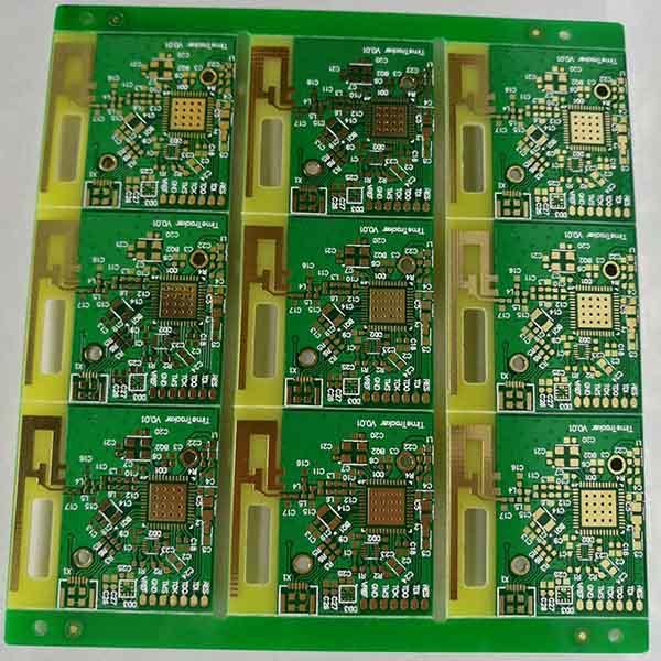 导航仪沉金PCB电路板
