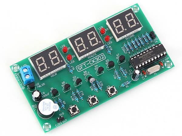 倒计时计数器PCBA方案
