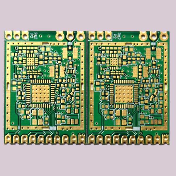 半孔阻抗PCB电路板