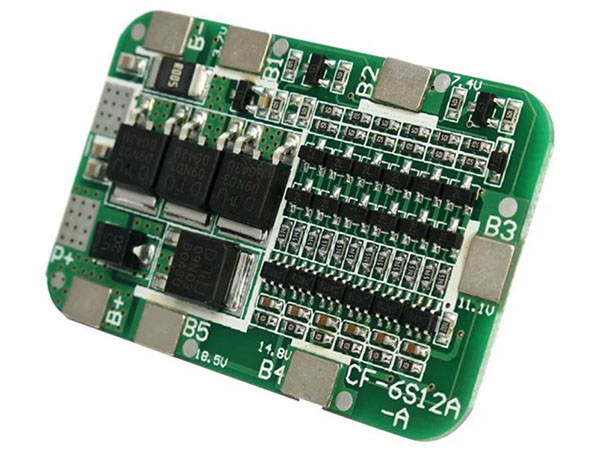 BMS电池PCBA电路板