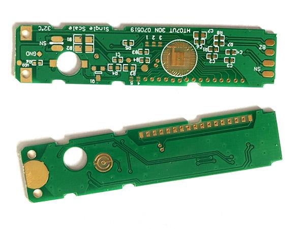 数字温度计印制电路板