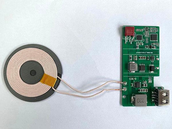 QC无线充PCBA电路板