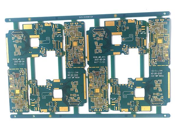 8层二阶HDI电路板