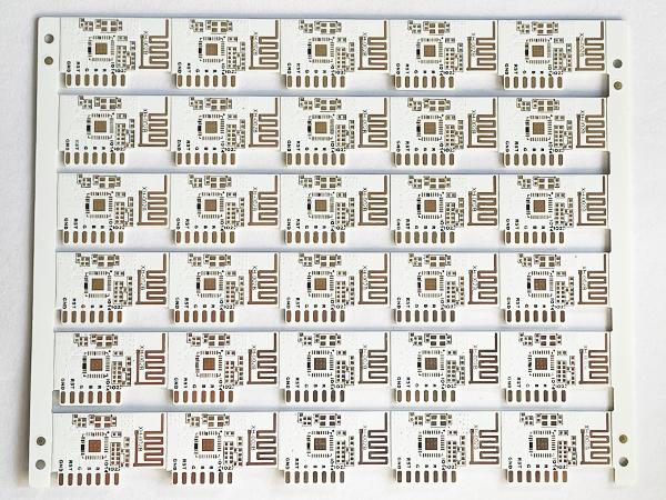 LED灯板白油PCB线路板
